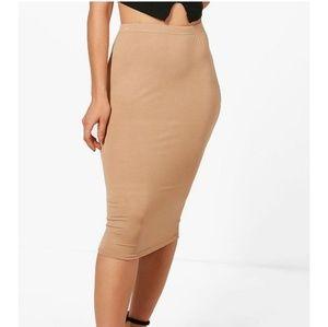 Never worn basic Jersey midi skirt